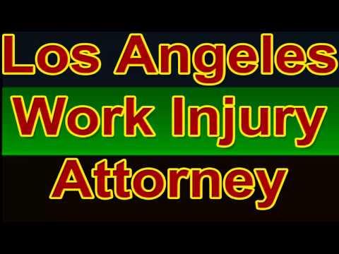 Los Angeles Work Injury Attorney