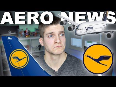NEUE LUFTHANSA LACKIERUNG? AeroNews