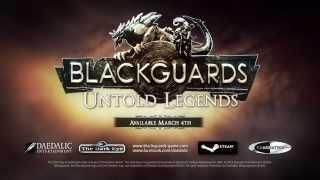 Blackguards Untold Legends DLC Official HD Game Teaser Trailer - PC Mac