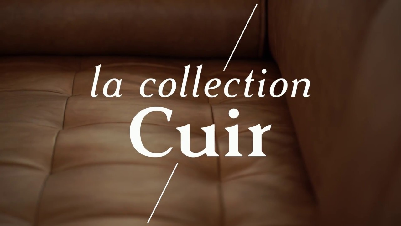La collection cuir