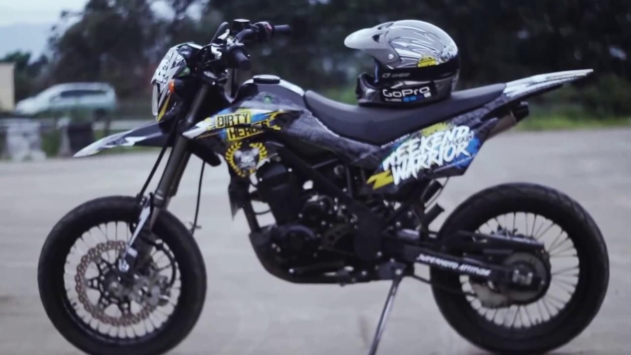 80 Modifikasi Motor Tracker Terupdate Oneng Motomania