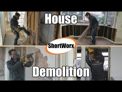 House Demolition – How do you renovate a house??? | P1V1 | ShortWorx