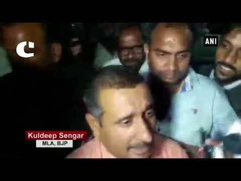 Unnao rape case: BJP MLA Kuldeep Singh Senger leaves SSP office without surrendering