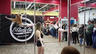 E-Study-on/Pole dance и воздушное полотно, Челябинск, 2018