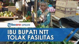 Suami Istri di NTT Tolak Fasilitas Mewah dan Tetap Jualan Sayur di Pasar, sang Anak Padahal Bupati