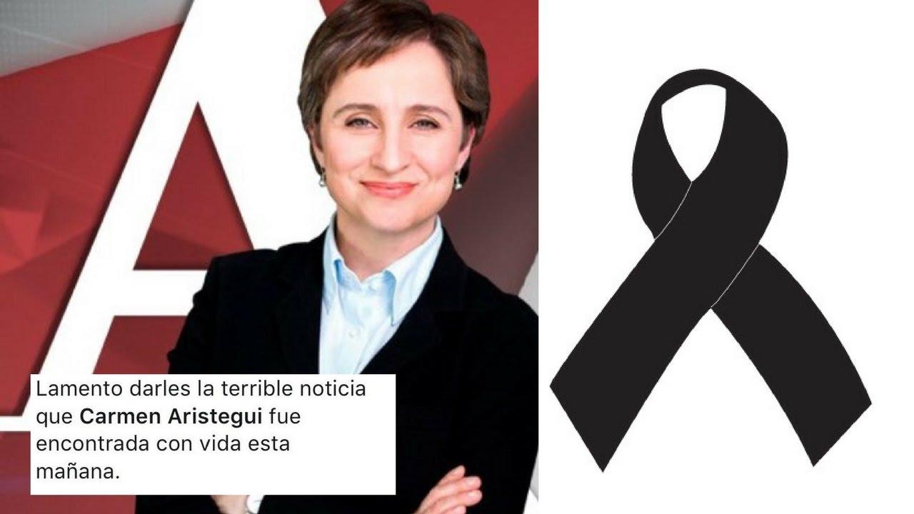 Matan a Carmen Aristegui en TWITTER? #DiaDeLaFamilia - YouTube