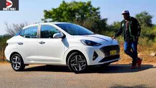 Hyundai Aura First Drive Review POV #Cars@Dinos