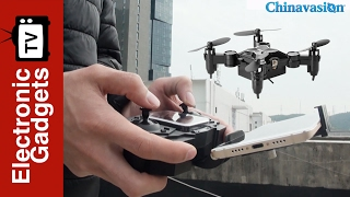 SMAO M1HS Mini Drone - 0.3MP Camera, FPV, App Support, WiFi, One Key Landing And Take Off