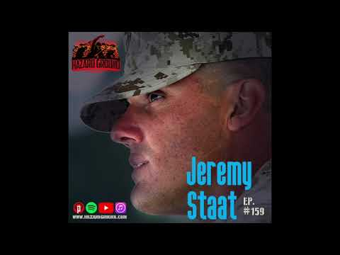 Ep. 159 - Jeremy Staat (From NFL to Marine Corps)