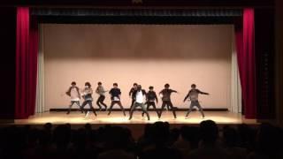 小田原高校文化祭 ダンス部 2017  BREMEN(3年男子)