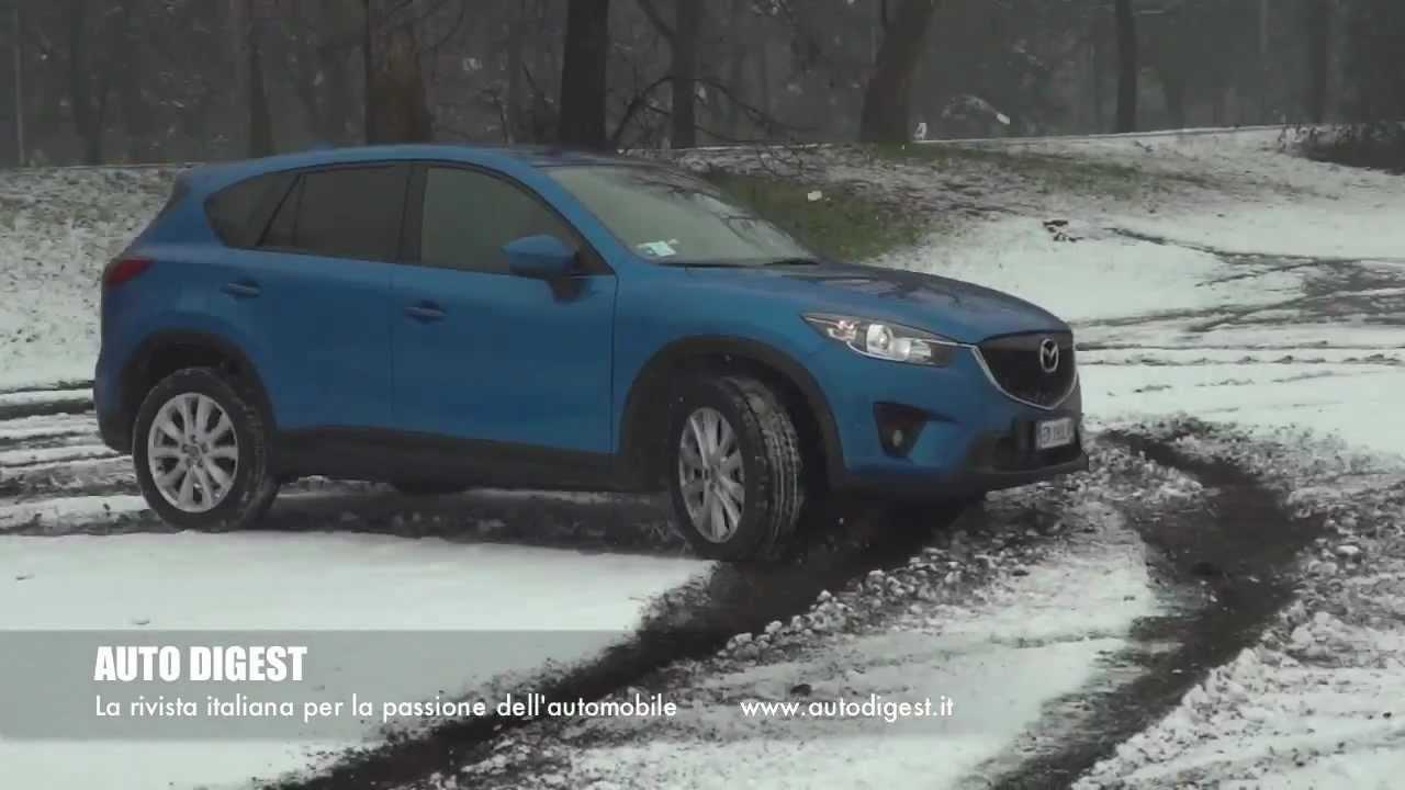 mazda cx 5 test drive on road snow track youtube. Black Bedroom Furniture Sets. Home Design Ideas