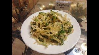 Корейский салат из капусты с огурцами: рецепт от Foodman.club