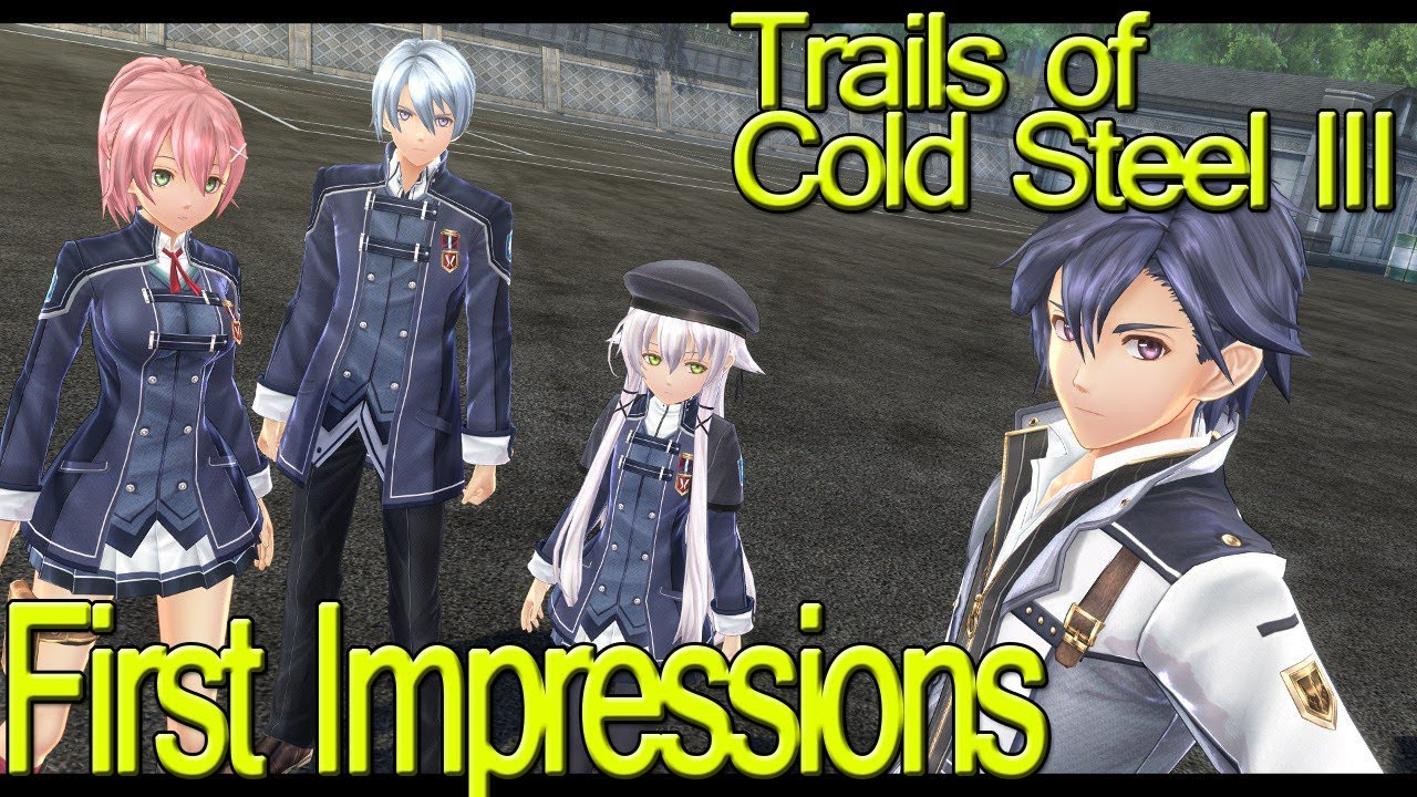 Trails Of Cold Steel World Map.The Legend Of Heroes Trails Of Cold Steel Iii First Impressions