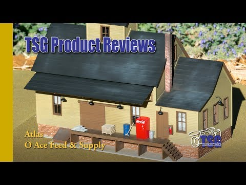 O Scale Feed Store Model Kit Atlas Product Review