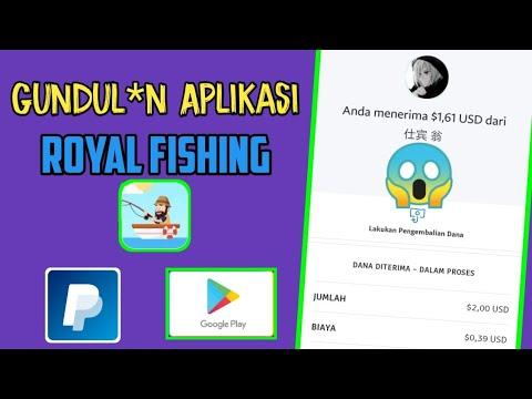 GUNDUL*N APLIKASI ROYAL FISHING DI BAYAR $2 - $200