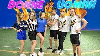 Uomini VS Donne - Sfida a CALCIO 3 vs 3!!