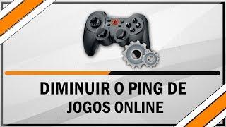 Como diminuir o ping da internet em jogos online