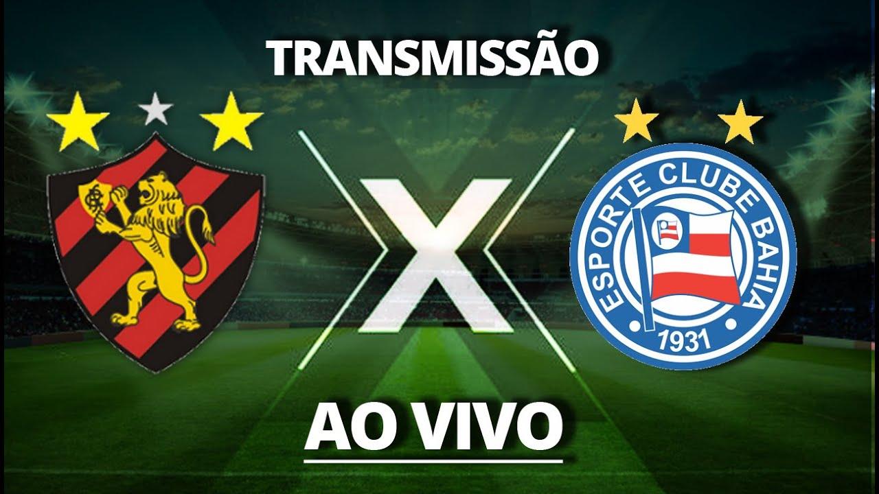 SPORT X BAHIA- TRANSMISSÃO AO VIVO - Brasileirão 2020 - Série A