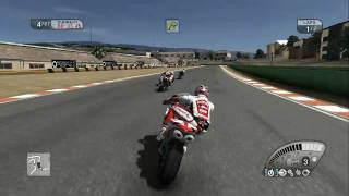 SBK 09 - Gameplay Back Views - Kyalami Haga [HD]