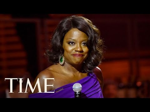 Viola Davis Gives Empowering Speech At 2017 Time 100 Gala: 'You Survived It'  TIME 100  TIME