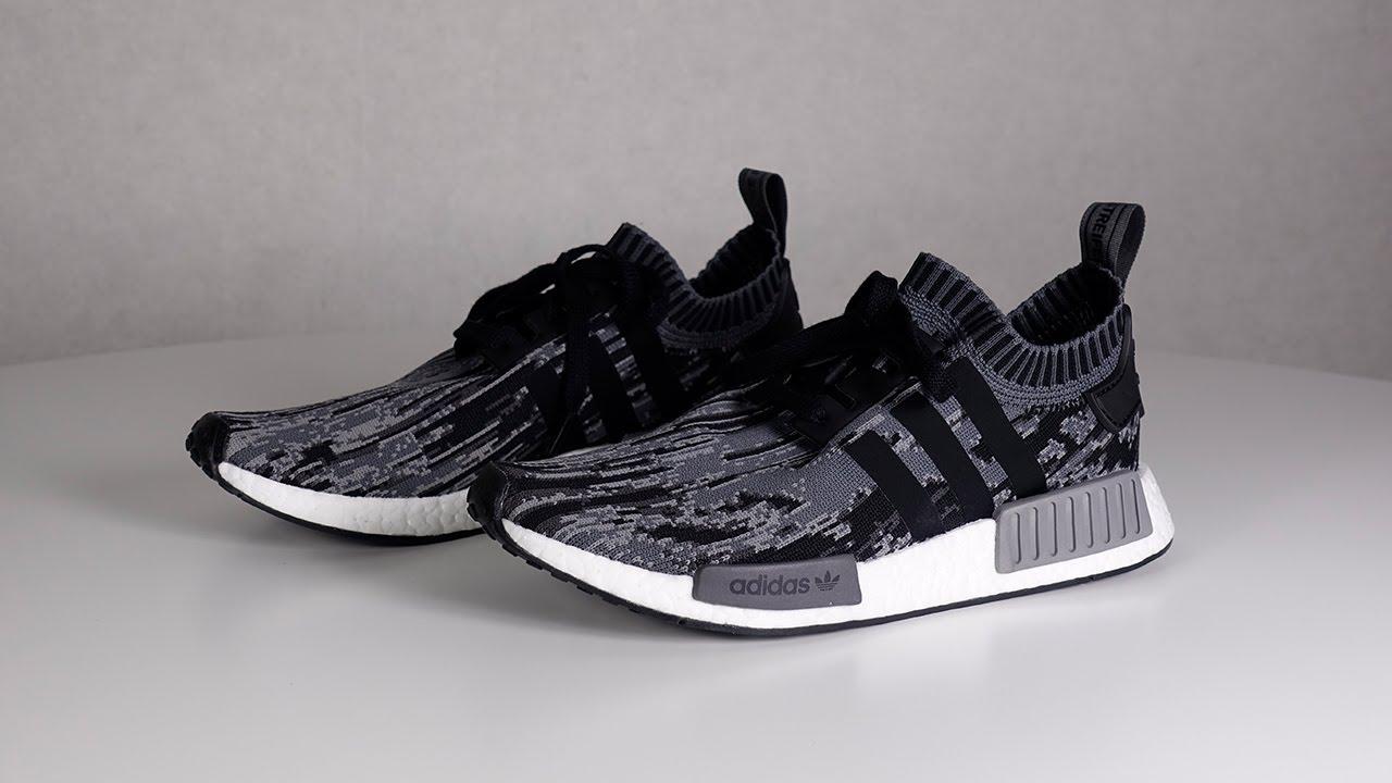 Unboxing #89 Chaussures Adidas Originals NMD_R1 PK Black/Grey | Adidas  AD115B07K