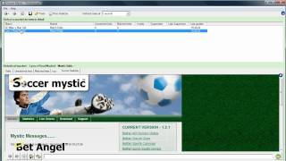 Bet trading - Champions league - Soccer Mystic
