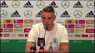DFB PK mit Stefan Kuntz & Felix Platte (U21 EM in Polen) 28/06/17