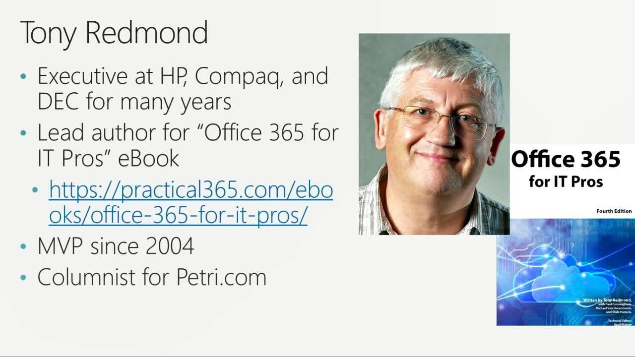 Ten critical areas for those moving from Exchange on-premises to Office 365 - BRK3332