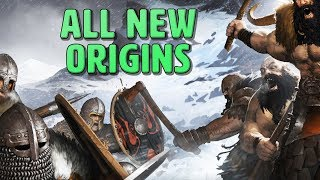 All New Origins in Battle Brothers Warriors of the North (Custom Campaign Starts)