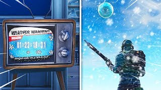 *NEW* SNOWSTORM ACTIVATED! FORTNITE SNOWSTORM EVENT IS HERE! (FORTNITE SEASON 7 FINAL EVENT LEAKED)