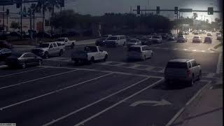Surveillance video shows road rage incident in Clearwater