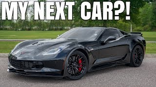 homepage tile video photo for 2016 Corvette Z06 Driving Review (Manual 3LZ Z07)