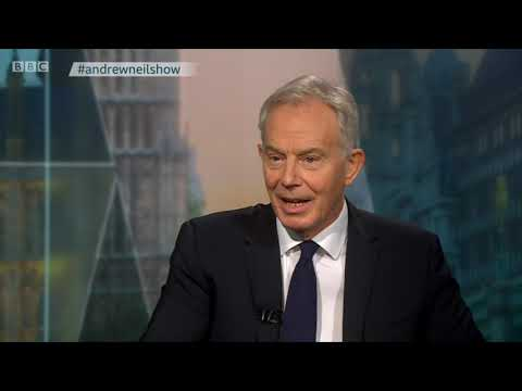 Former PM Tony Blair discusses Brexit on The Andrew Neil Show