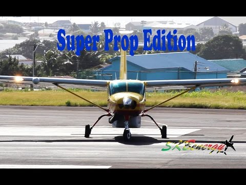 Super !!! Turbo Prop - Small Prop Departure Edition @ St. Kitts R.L.B Int'l Airport