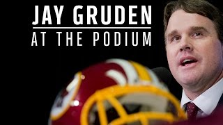 Head Coach Gruden Press Conference: 9/15/14