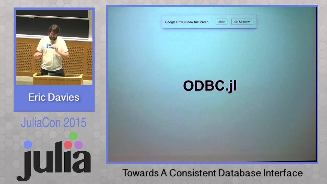 MonthOfJulia Day 16: Databases - datawookie