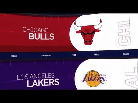 Chicago Bulls vs LA Lakers Game Recap   1/15/19   NBA