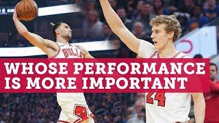 Lauri Markkanen or Zach LaVine: Whose performance is more important | NBC Sports Chicago