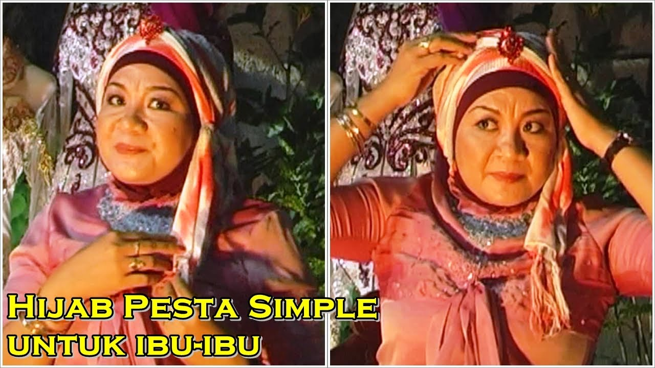 Hijab Pesta Simple Untuk Ibu Ibu YouTube