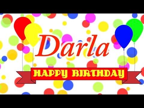 Happy Birthday Darla Song