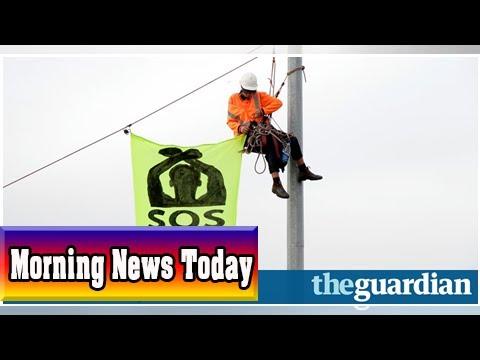 Refugee advocates blockade melbourne port in protest at offshore detention| Morning News