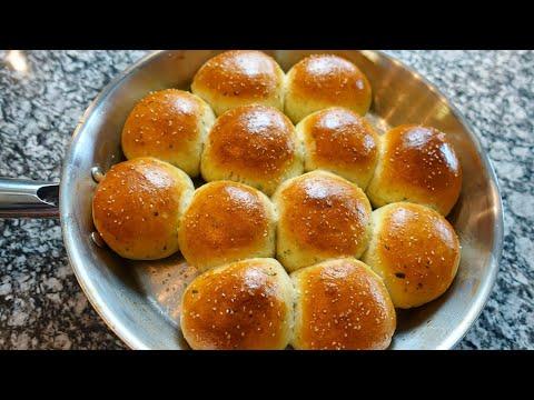 How To Make Buttery Dinner Rolls | Fresh Herby Soft Tender Rolls