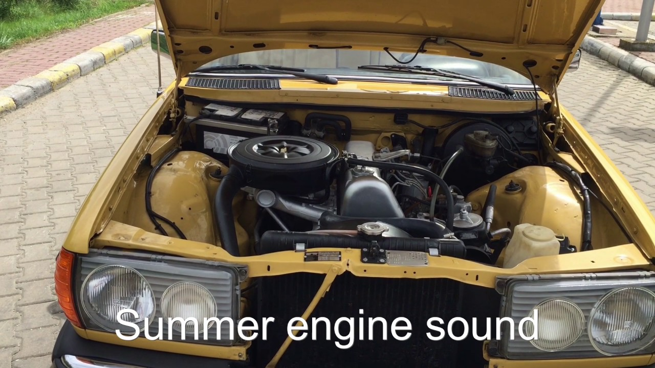 mercedes benz w123 200d engine sound - youtube top with diagram of engine xc90 engine diagram of engine mercedes 200d #9