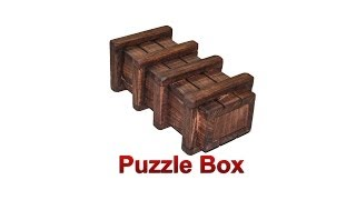 Puzzle Box (plans Included)