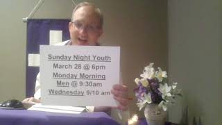 5th Sunday of Lent Online Worship ~ Christ United Methodist Church, Selinsgrove, PA ~ March 21, 2021