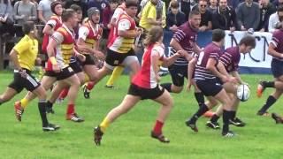 Rugby U16: Semifinale URC vs Granducato 2016, primo tempo