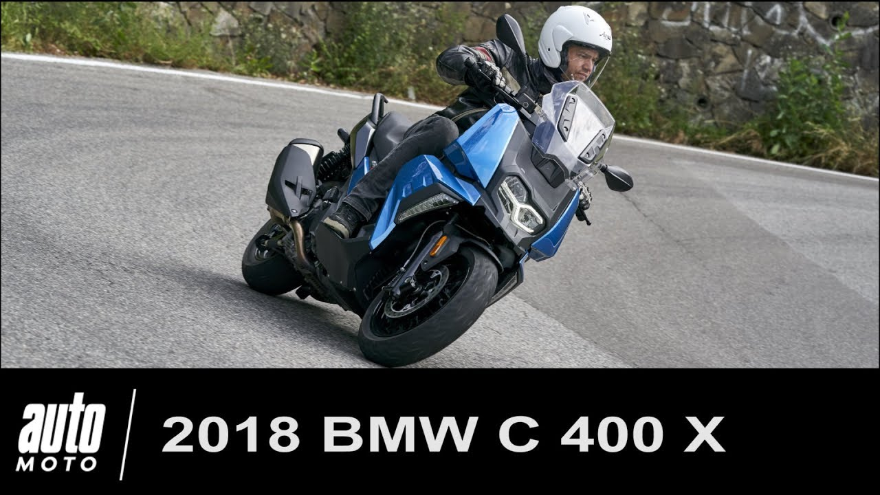 2018 bmw c400x essai du scooter connect pov auto youtube. Black Bedroom Furniture Sets. Home Design Ideas