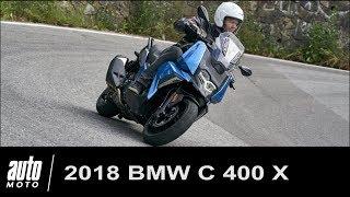 2018 BMW C400X Essai du scooter connecté POV Auto-Moto.com
