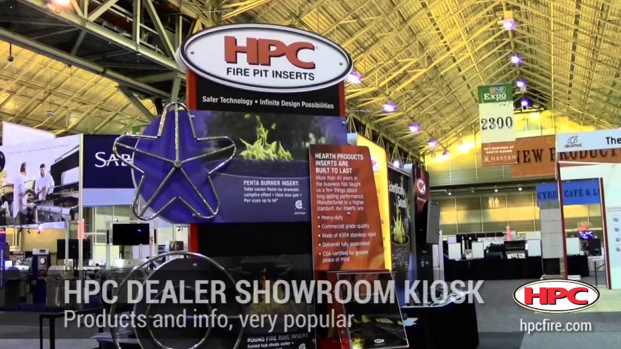 Fire Pit and BBQ Expo by HPBA (Hearth Patio and Barbecue Association ...