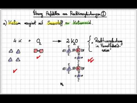 09_Uebung_Aufstellen_Reaktionsgleichungen - YouTube